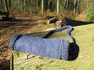Muff, gemütlicher Handwärmer, auch praktisch für Menschen mit Behinderungen an den Händen