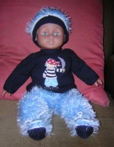 Daniel, Kombination für Puppe 40 - 45 cm, P273