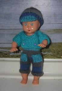 Cedrik,Kombination für Puppe 16 cm, P323