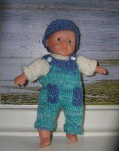 Oliver, Kombination für Puppe 16 cm, P335