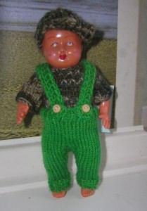 Rolf, Kombination für Puppe 14.5 cm, P337