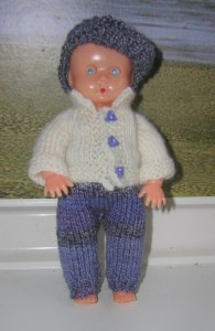 Tim, Kombination für Puppe 16 cm, P339