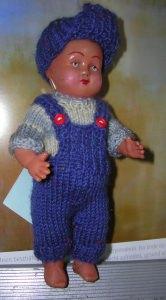 Werner, Kombination für Puppe 15 cm, P342