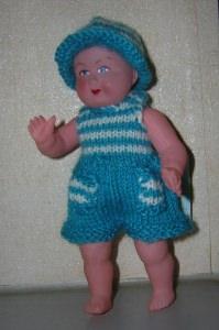 Dennis, für Puppe 14,5 cm, P347