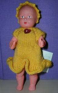 Erna, für Puppe 14,5 cm, P348