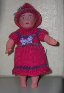 Bärbel, für Puppe 14,5 cm, P322