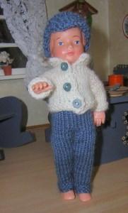 Puppenstuben Papa Horst, 15 cm,