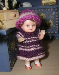 Puppenstuben Kind Marie, 7 cm