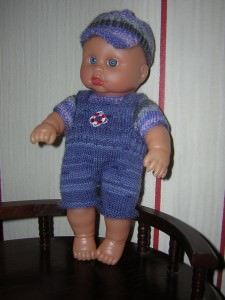 Stefan, für Puppe 25 cm, P361