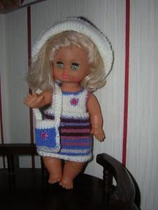 Tina, für Puppe 27 cm, P362