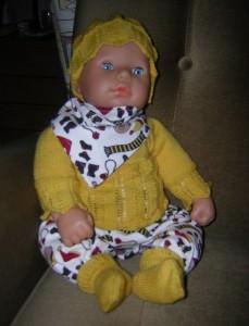 Weronika, für Puppe 45 - 50 cm, P307