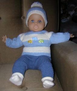 Sebastian, für Puppe 40 - 45 cm, P306
