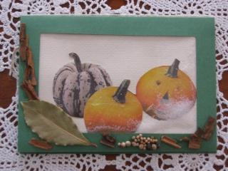 Kürbiskarte, Geburtstagskarte, Herbstkarte, Halloween - Handarbeit kaufen