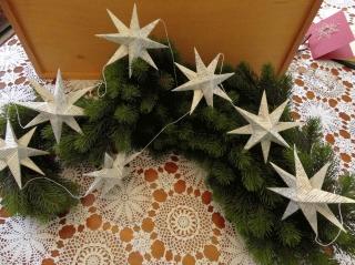 Sternenkette, Girlande, Upcycling - Handarbeit kaufen