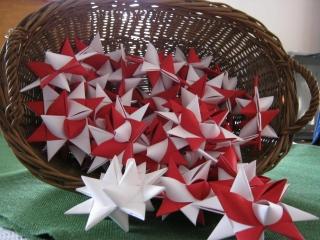 Fröbelsterne, 3er-Set, 12-13 cm Durchmesser