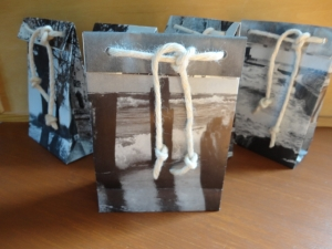 Tüten, Tragetaschen aus Papier, 5er-Set - Handarbeit kaufen