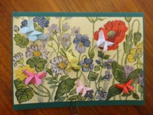 Karte Blütenwiese 2, für Naturliebhaber