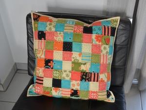 Kissenbezug ★ Sassy ★ Qudrate, 50 cm x 50 cm - Handarbeit kaufen