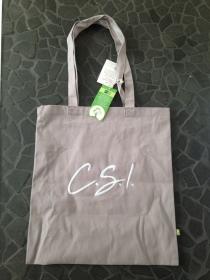 Fairtrade Tasche mit Schriftzug oder Initialien bestickt