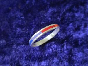 Silberring -Regenbogen- fein & zart - Handarbeit kaufen