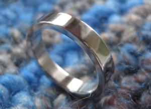 Silberring schlicht & robust