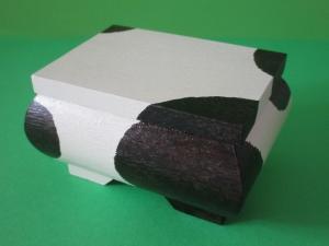 Trollkästchen Schmuckkästchen -Panda- mit handgezeichnetem Geheimnis im Bauch