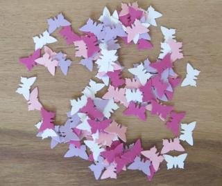 400 Konfetti Schmetterling
