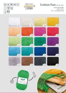 Gründl Cotton Fun 100% reine Baumwolle - große Farbauswahl !