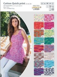 Gründl Cotton Quick Print 100% reine Baumwolle - große Farbauswahl !