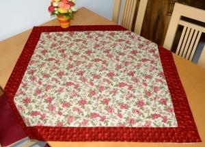 schöne  sommerliche Mohnblumen-Tischdecke - Handarbeit kaufen