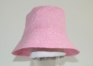 rosa weiß farbener Mädchen-Sonnenhut