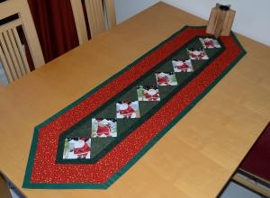individueller rot grüner weihnachts-Tischläufer