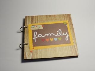 Scrapbook / Album / Familie /Fotoalbum