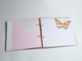 Babybuch / Tagebuch / Mädchen / Scrapbook