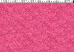 Baumwolljersey - kleine Kringel Rosa Pink