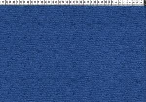 Baumwolljersey - kleine Kringel Blau