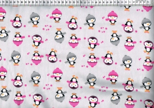 Baumwolljersey - Pinguin grau