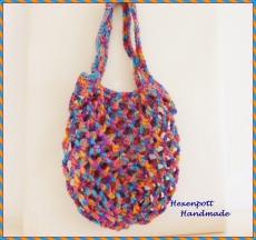 Einkaufsnetz♥ Baumwolle MINI bunt