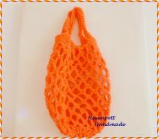 Einkaufsnetz ♥ MINI Neon Orange