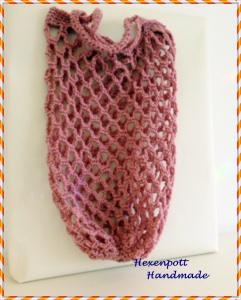 Einkaufsnetz ♥Maxi Baumwollmix Ballnetz