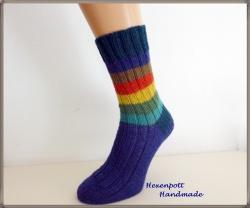 handgestrickte Socken Gr.41-42