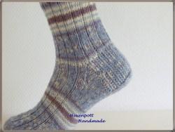 Socken handgestrickt  Gr.44-45 Regia Perfect