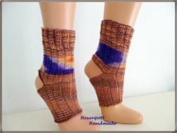 Yogasocken Socken handgestrickt  Gr.S