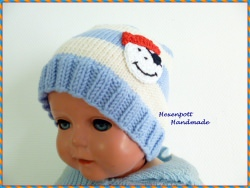 Kindermütze  Merino Gr. M ab ca 10 Monaten