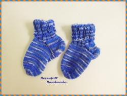 Babysocken handgestrickt Merino Gr. 17-19