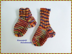 Socken Babysocken♥ handgestrickt Gr. 17-19