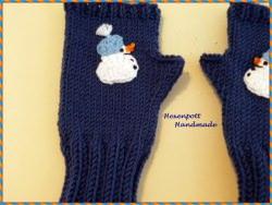 Kinderstulpen handgestrickt Merino ca 15 cm (Kopie id: 20082)