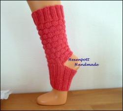 Yogasocken handgestrickt Gr. L Socken ohne Ferse