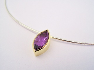 Amethyst Collier Omegareif