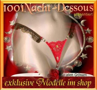 sexy Perlenstring ->Luxus O-String Intimschmuck - Handarbeit kaufen